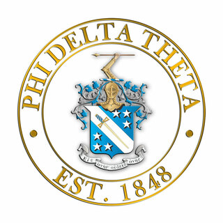 Phi Delta Theta Circle Crest - Shield Decal