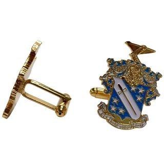 Phi Delta Theta Color Crest - Shield Cuff links