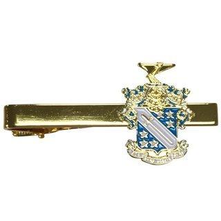 Phi Delta Theta Color Crest - Shield Tie Clips