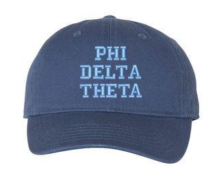 Phi Delta Theta Comfort Colors Pigment Dyed Baseball Cap