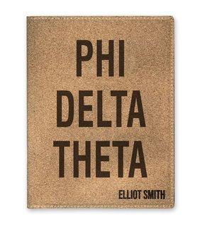 Phi Delta Theta Cork Portfolio with Notepad