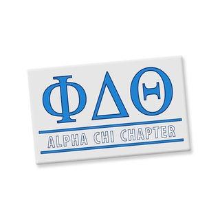 Phi Delta Theta Custom Ceramic Magnet
