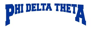 Phi Delta Theta Decal