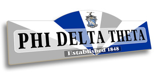 Phi Delta Theta Display Sign