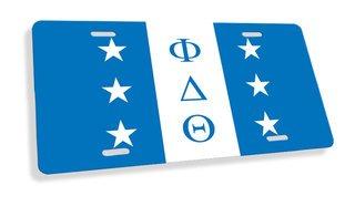 Phi Delta Theta Flag License Cover