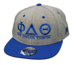 Phi Delta Theta Flatbill Snapback Hats Original