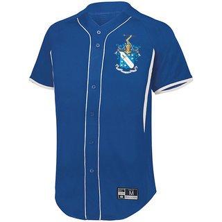 Phi Delta Theta Game 7 Full-Button Baseball Jersey