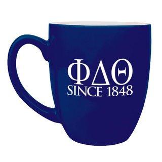 Phi Delta Theta Greek Bistro Mug