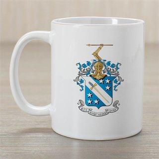 Phi Delta Theta Greek Crest Coffee Mug