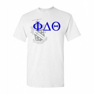 Phi Delta Theta Greek Crest - Shield T-Shirt