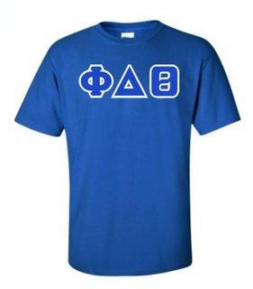 Phi Delta Theta Lettered T-Shirt