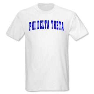 Phi Delta Theta letterman tee