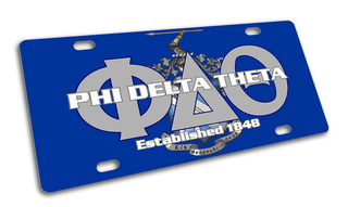 Phi Delta Theta License Cover