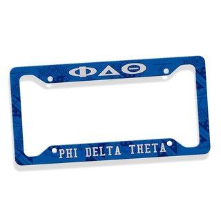 Phi Delta Theta Custom License Plate Frame
