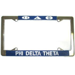 Phi Delta Theta License Plate Frame