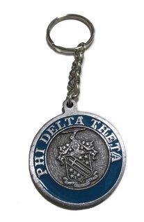 Phi Delta Theta Metal Fraternity Key Chain