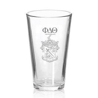 Phi Delta Theta Mixing Glass