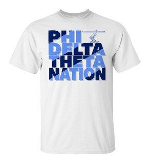 Phi Delta Theta Nation T-Shirt