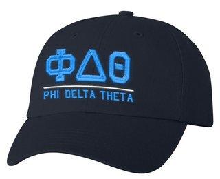 Phi Delta Theta Old School Greek Letter Hat