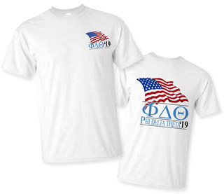 Phi Delta Theta Patriot Limited Edition Tee- $15!