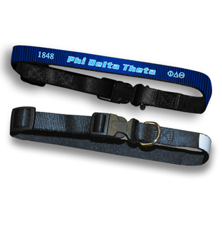 Phi Delta Theta Pet Collar