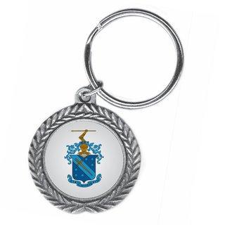 Phi Delta Theta Pewter Key Ring
