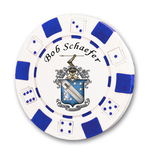 Phi Delta Theta Poker Chips