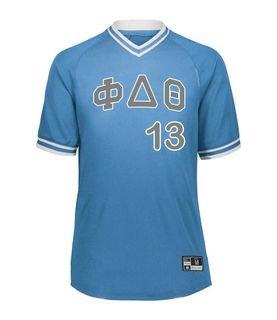 Phi Delta Theta Retro V-Neck Baseball Jersey