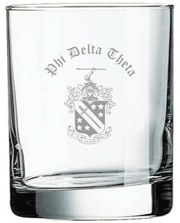 Phi Delta Theta Old Style Glass