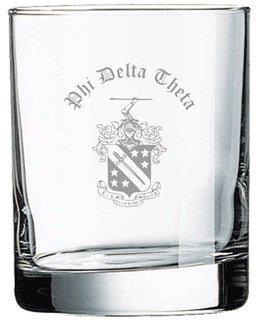 Phi Delta Theta Old Style Glass