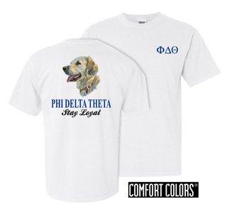 Phi Delta Theta Stay Loyal Comfort Colors T-Shirt