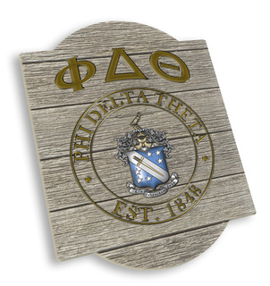 Phi Delta Theta Traditional Sign