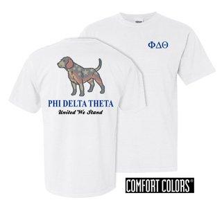 Phi Delta Theta United We Stand Comfort Colors T-Shirt