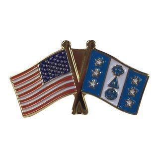 Phi Delta Theta USA Flag Lapel Pin