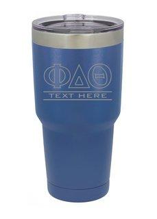 Phi Delta Theta Vacuum Insulated Tumbler