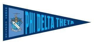 Phi Delta Theta Wall Pennants