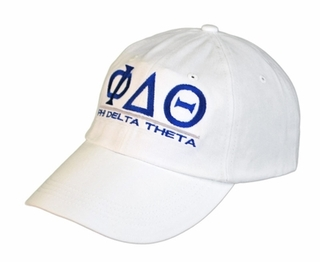 Phi Delta Theta World Famous Line Hat - MADE FAST!