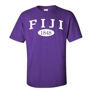 Phi Gamma Delta - FIJI Fraternity arch tee