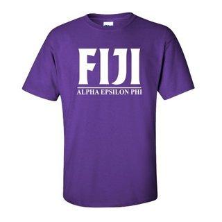 Phi Gamma Delta - FIJI Fraternity bar tee