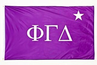 Phi Gamma Delta FIJI Fraternity Chapter Flag