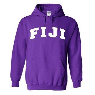 Phi Gamma Delta - FIJI Fraternity letterman Hoodie