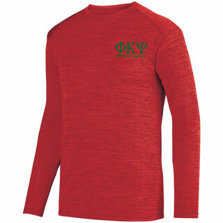 Phi Kappa Psi- $26.95 World Famous Dry Fit Tonal Long Sleeve Tee