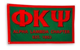 Phi Kappa Psi 3 x 5 Flag