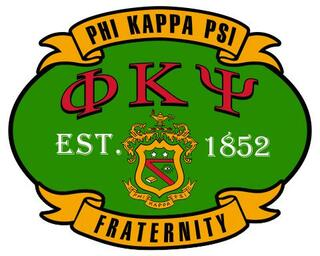 Phi Kappa Psi Banner Crest - Shield Decal