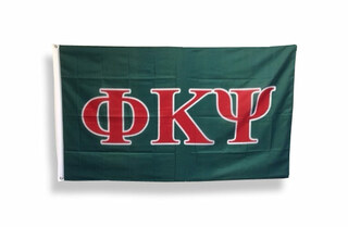 Phi Kappa Psi Big Greek Letter Flag