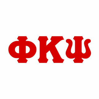 Phi Kappa Psi Big Greek Letter Window Sticker Decal