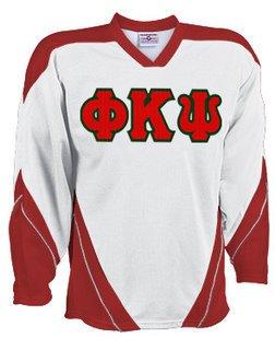 DISCOUNT-Phi Kappa Psi Breakaway Lettered Hockey Jersey
