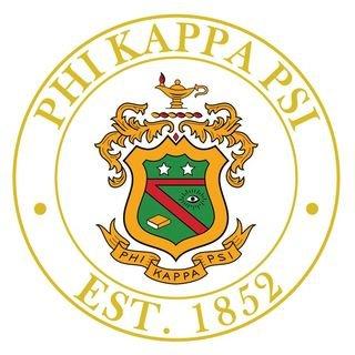 Phi Kappa Psi Circle Crest Round Ornaments