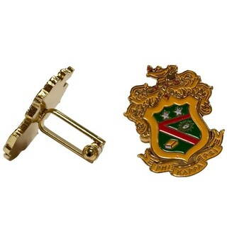 Phi Kappa Psi Color Crest - Shield Cuff links