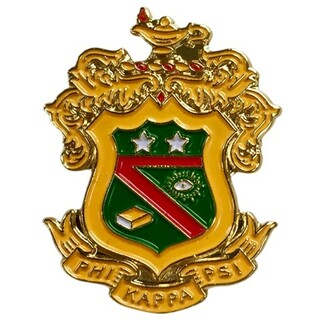 Phi Kappa Psi Color Crest - Shield Pins